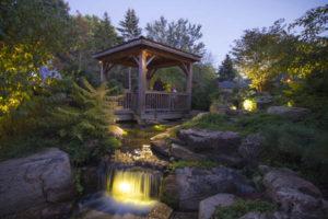 berthoud pond lighting loveland berthoud koi