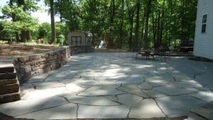 loveland flagstone patio berthoud flagstone patio design in northern colorado